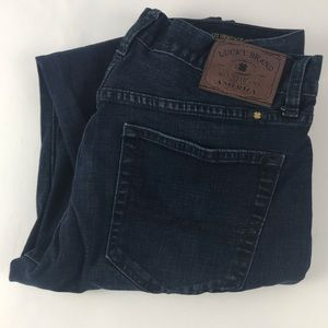 Lucky Brand 121 heritage slim straight leg jeans
